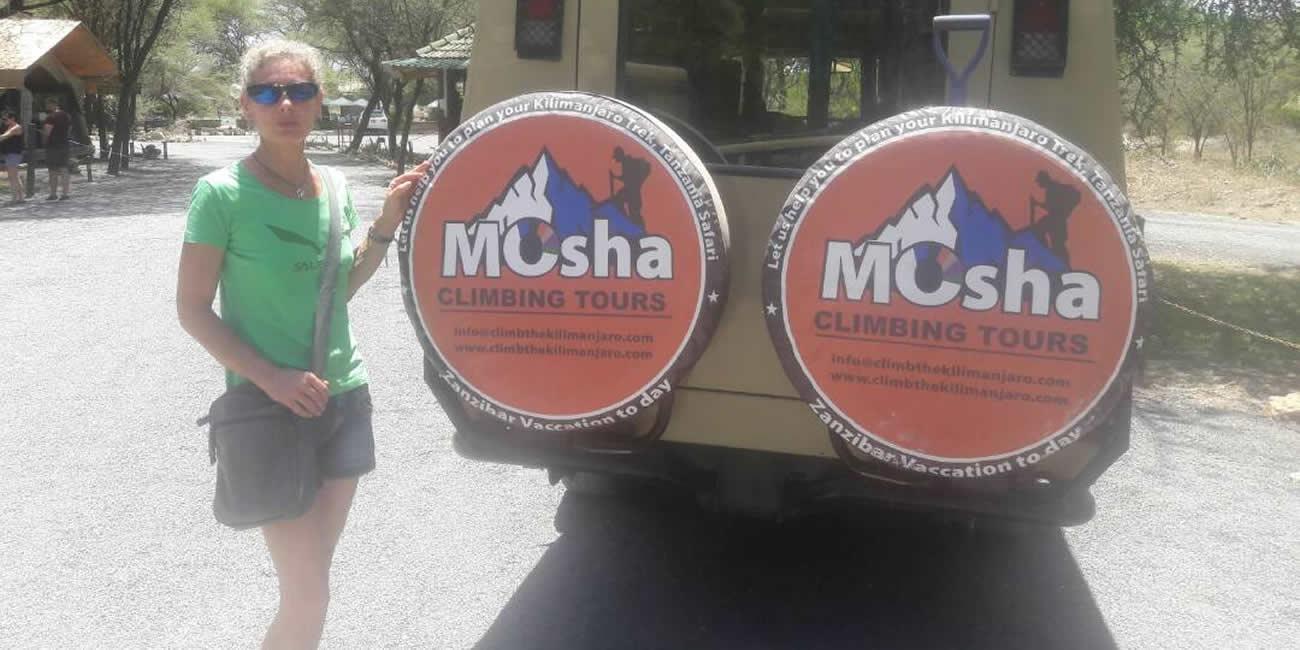 mosha climbing safari